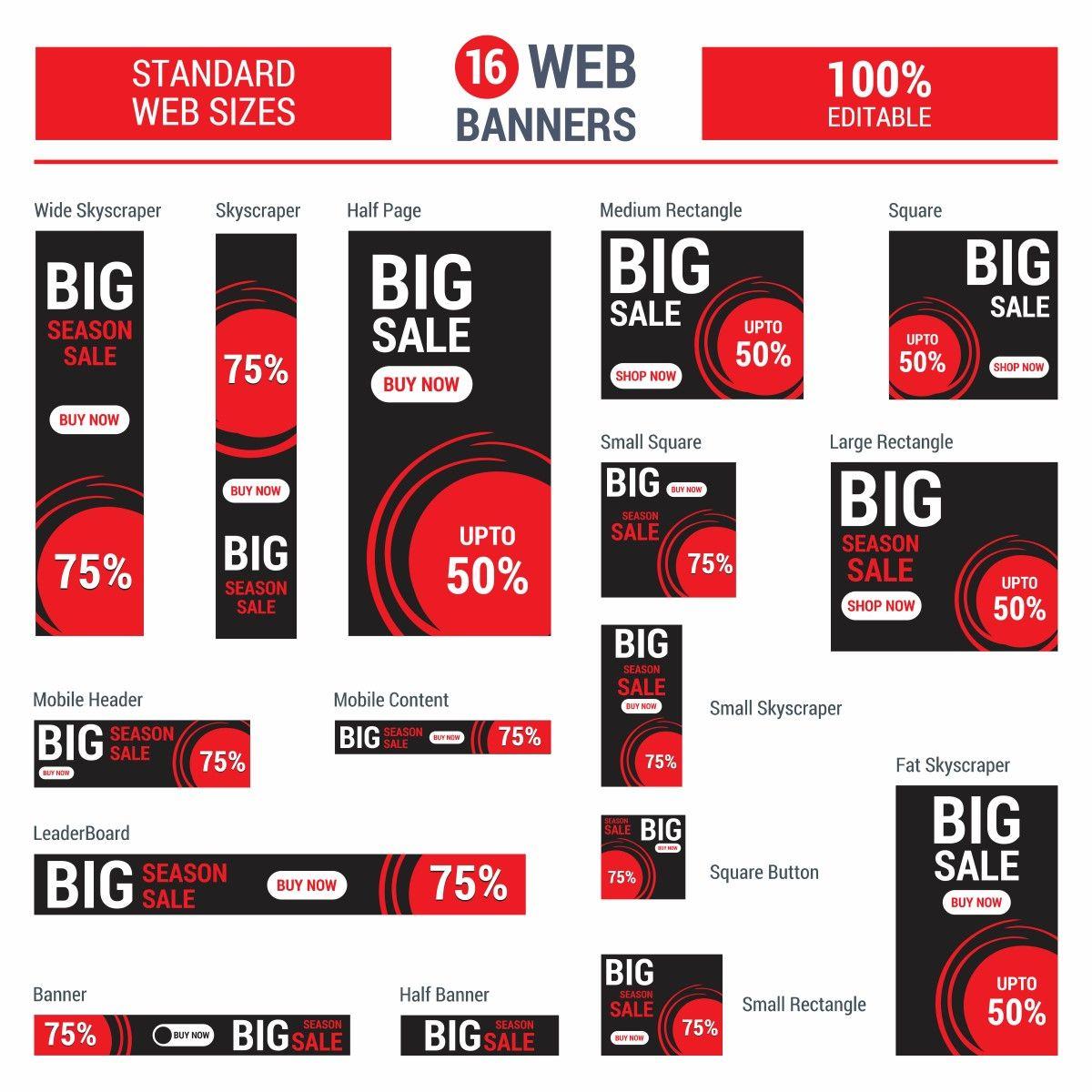 Display Marketing Bannergrößen Melani Okon Online Marketing Agentur